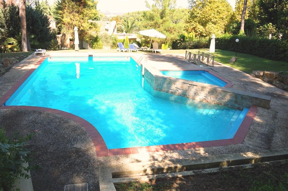 Sani Cape Villas Shared Pool